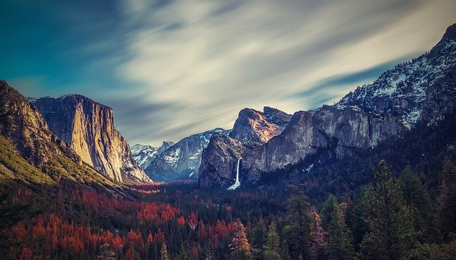 Yosemite Valley, Yosemite, Us, California, Valley