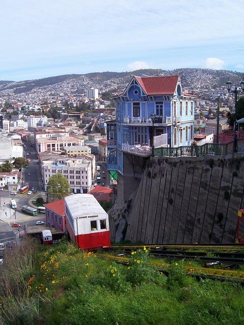 Funicular, Valparaiso, Chile