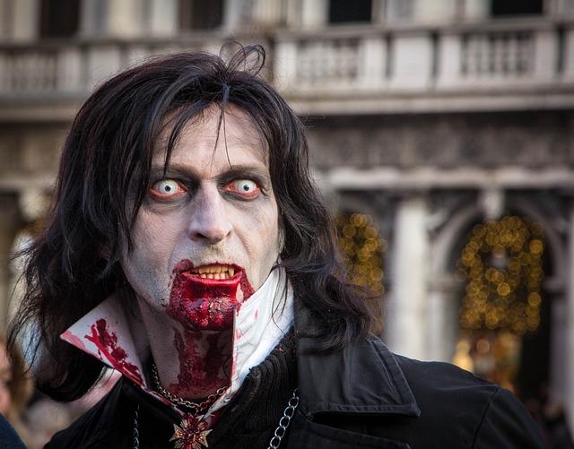 Venice, Vampire, Mask, Carnevale, Costume, Carnival