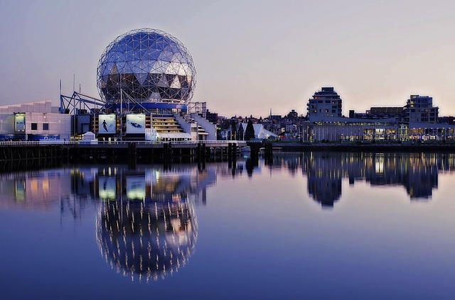 Science World, False Creek, Vancouver, British Columbia