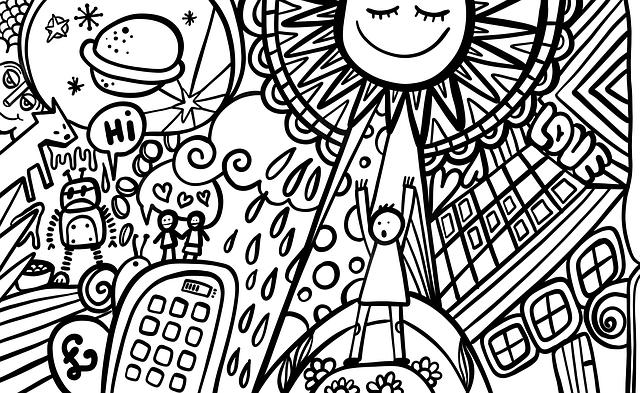 Comic, Urban, Modern, Sketch, Ink, Vandalism, Cartoon