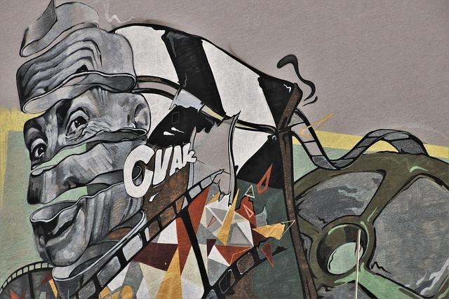 Graffiti, Paint Spray, Plaster, Vanguard, Murals, Spray