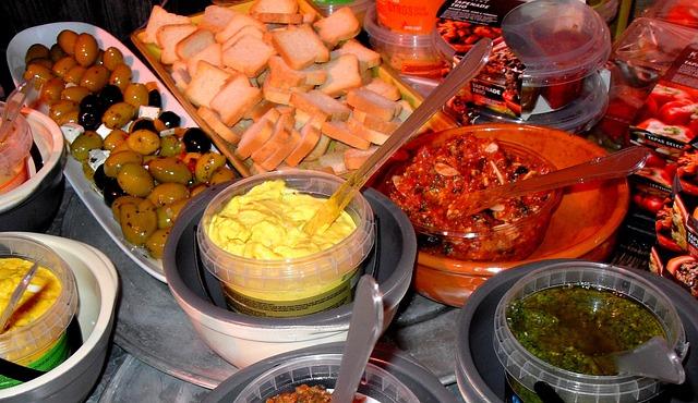 Tapas, Italian, Tasty, Various