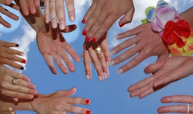 Hand, Ring, Woman, Female, Varnish