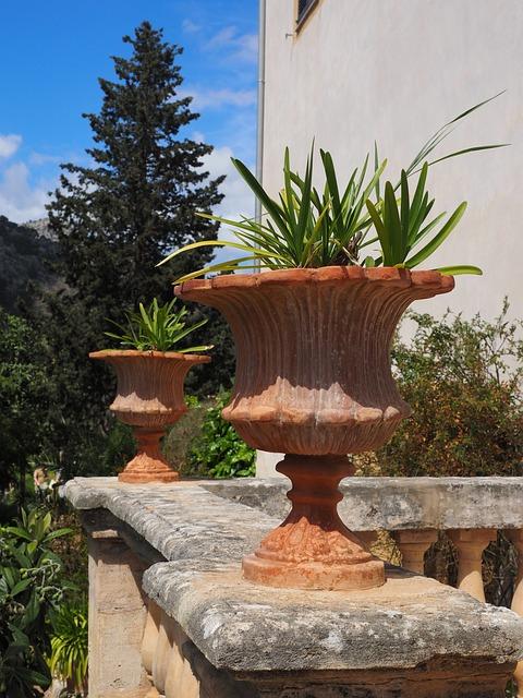 Vase, Flowerpot, Decoration Old, Antique, Balcony
