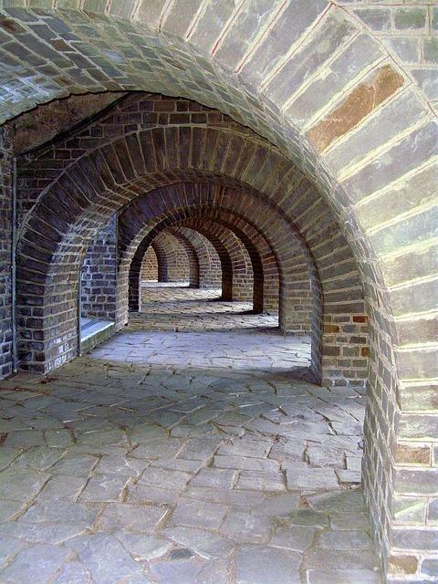 Vault, Building, Stones, Architecture, Old, Xanten