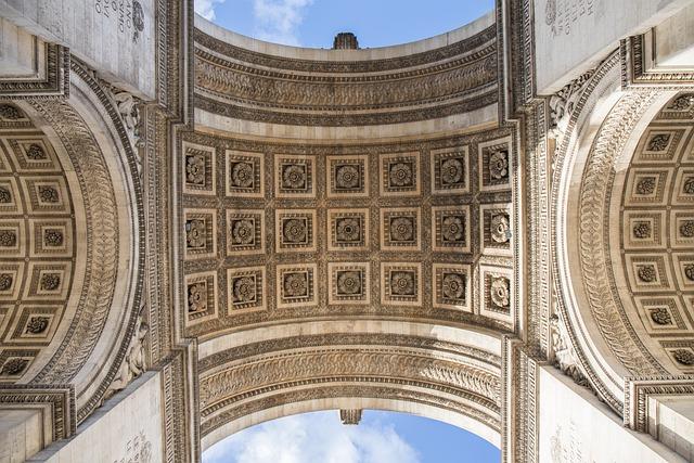 Arc De Triomphe, Architecture, Vaulted, History