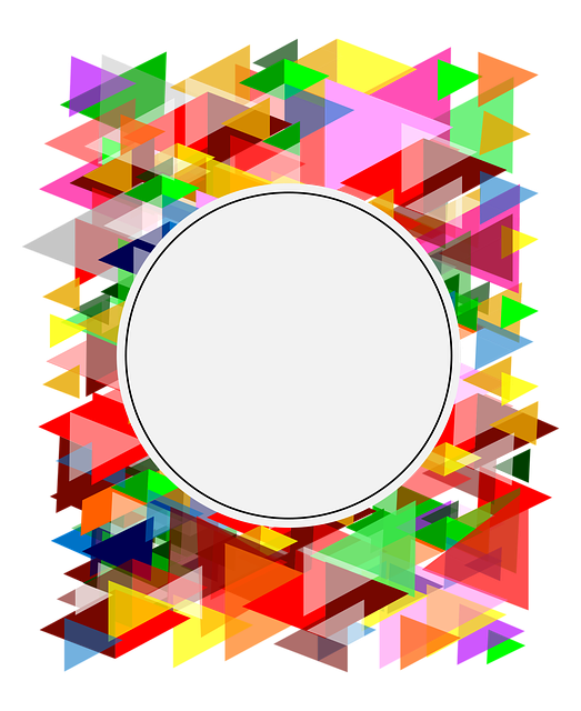 Photo Frame, Transparent Background, Vector Graphics