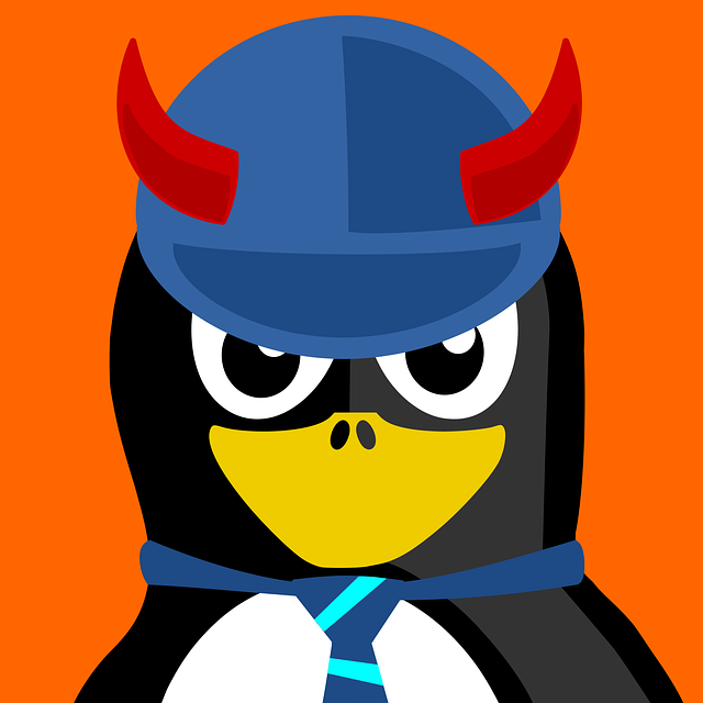 Acdc, Tux, Inkscape, Vector, Penguin, Animal