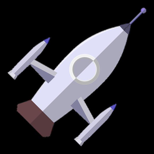 Rocket, Astronaut, Vector, Space Travel, Ufo, Moon