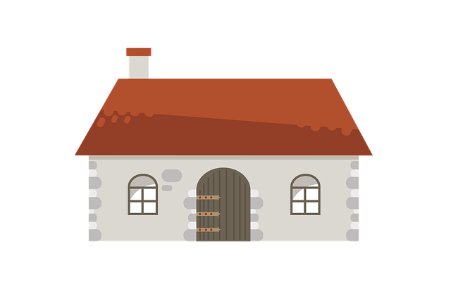 House, Stone House, Old House, Hovel, Vector