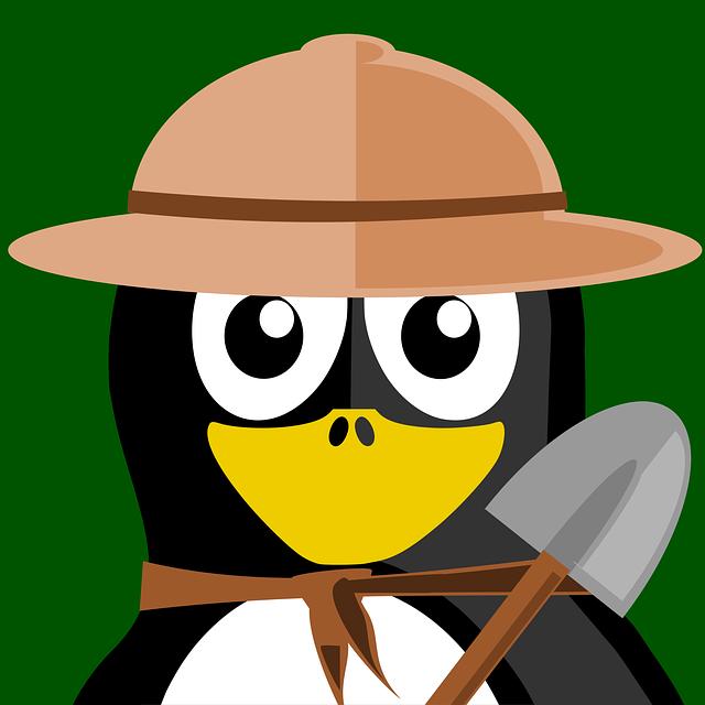 Researcher, Tux, Inkscape, Vector, Penguin, Animal