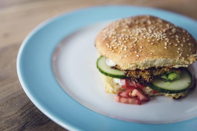 Vegan, Vegetarian, Burger, Eat, Frisch, Vitamins