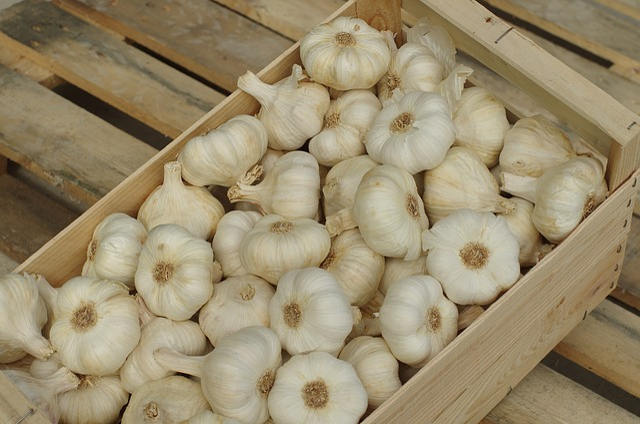Garlic, Garlic White, Wallpaper, Food, Vegetable