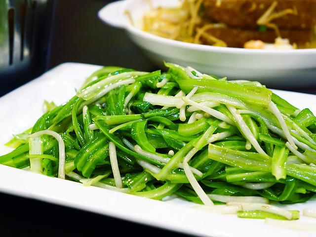 Green Dragon Vegetable, 青龙菜, Bean Sprouts, Vegetable