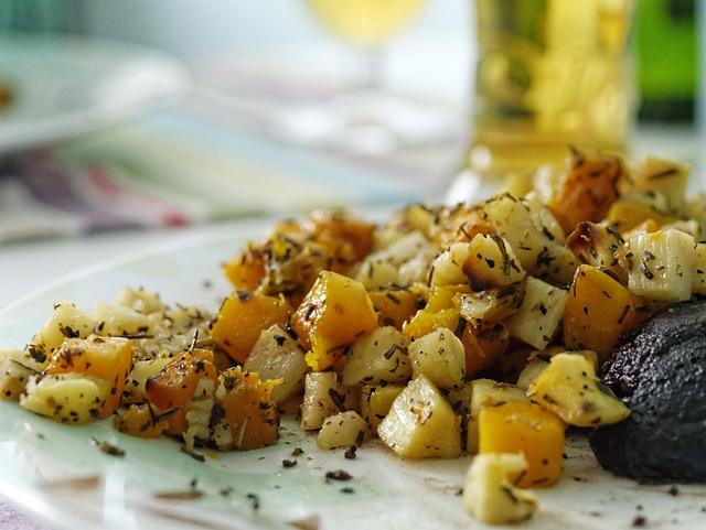 Root, Potato, Hash, Healthy, Vegetable, Vegetarian