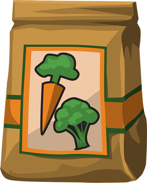 Vegetables, Paper Bag, Carrots, Broccoli, Produce