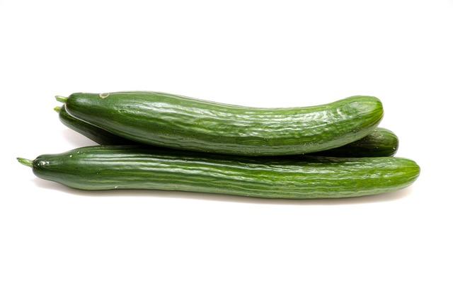 Cucumbers, Salad, Vegetables, Food, Healthy, Frisch