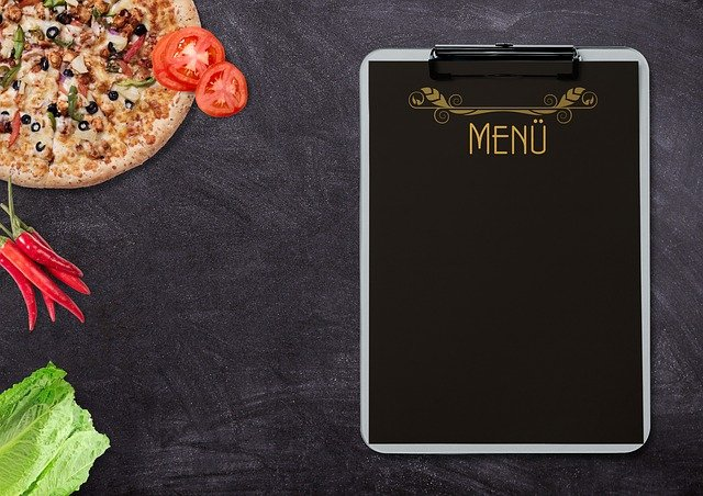 Menu, Pizza, Vegetables, Eat, Tomatoes, Pepperoni