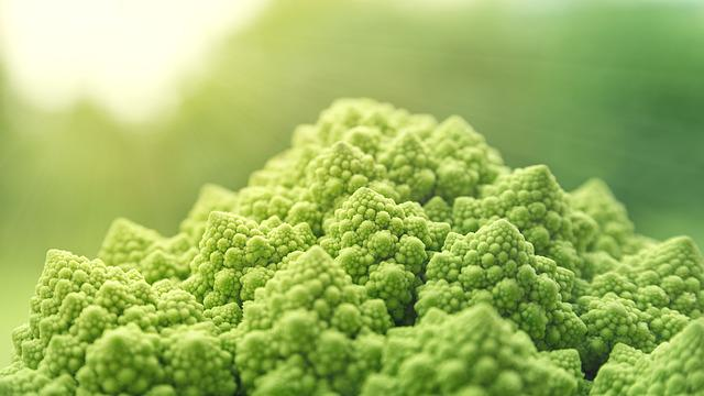 Romanesco, Vegetables, Green, Food, Vitaminhaltig