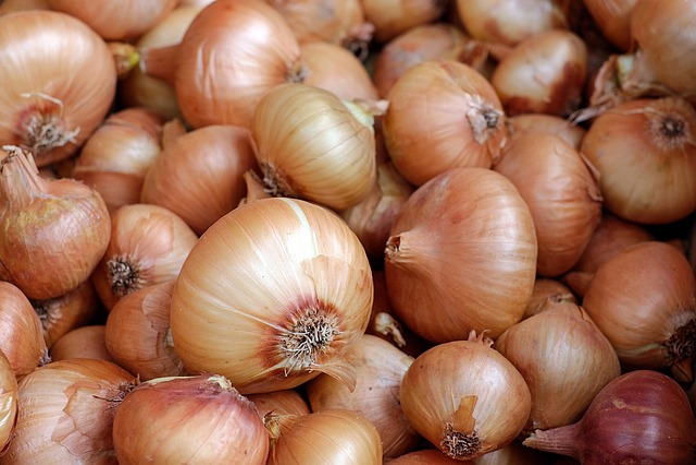 Onions, Vegetables, Food, Healthy, Vegetable Market