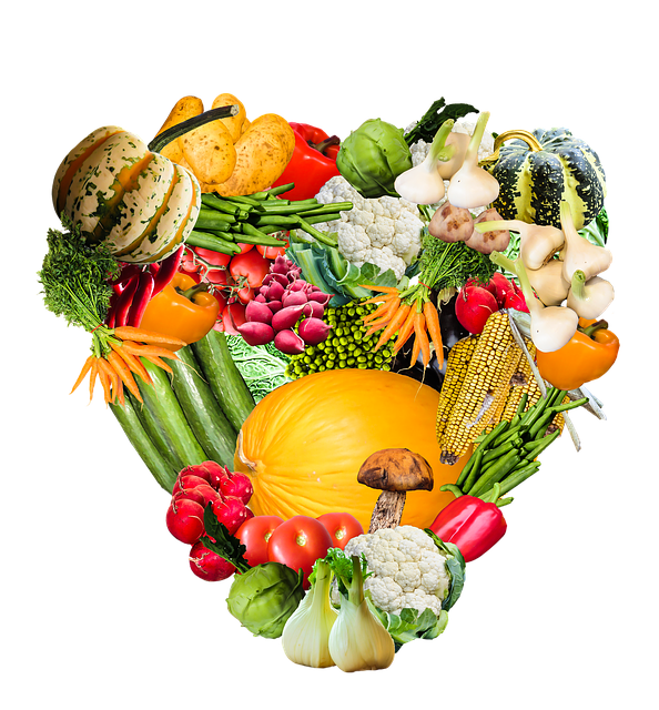 Heart, Vegetables, Harvest, Thanksgiving, Png, Isolated