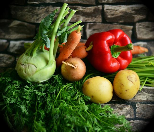 Vegetables, Colorful Vegetables, Mixed Vegetables
