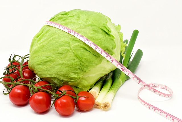 Vegetables, Salad, Healthy, Tomatoes, Spring Onions