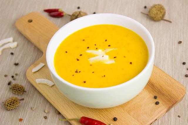 Soup, Pumpkin, Coconut, Pumpkin Soup, Vegetarian, Cook