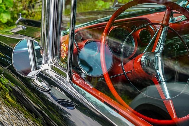 Chevrolet, Black, Red, Automotive, Vehicle, Vintage