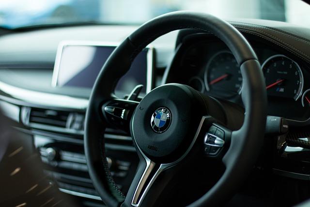 Bmw, Steering Wheel, Vehicle, Transport, Transportation