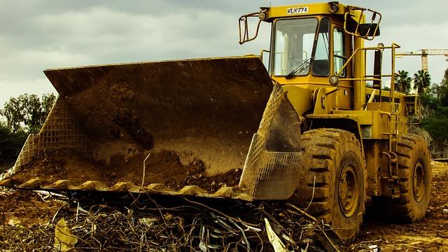 Bulldozer, Heavy Machine, Equipment, Vehicle, Machinery