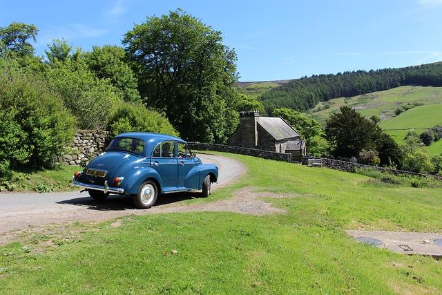 Morris Minor, Car, England, Morris, Vehicle, Minor