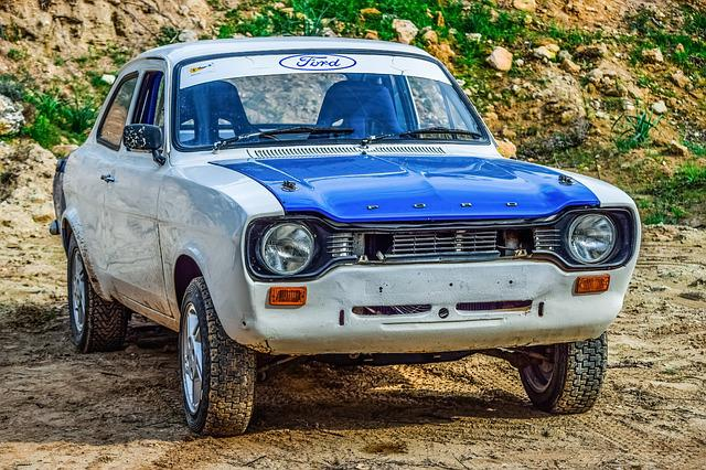 Ford Escort Mk1, Vehicle, Classic Car, Rally
