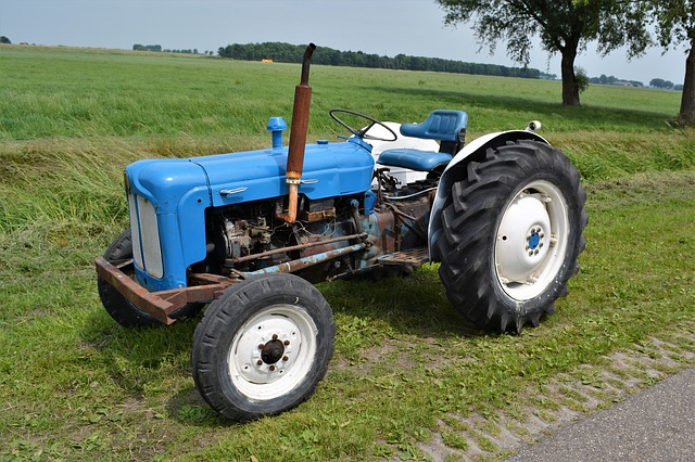 Agriculture, Vehicle, Machine, Tractor