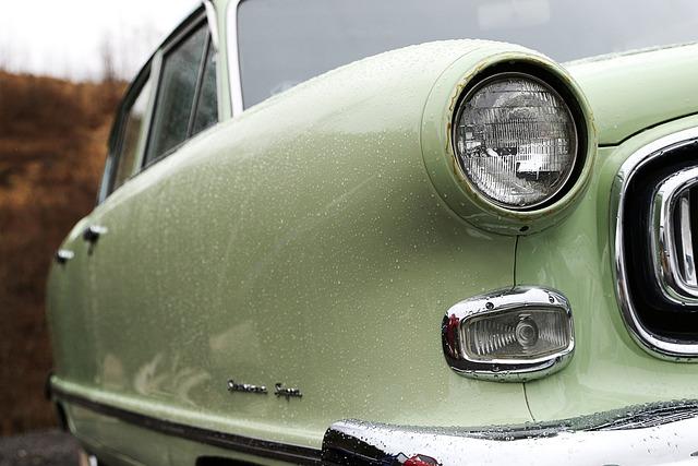 American Car, Car, Vehicle, Old