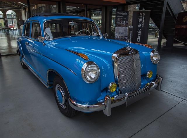 Auto, Mercedes, Oldtimer, Classic, Vehicle