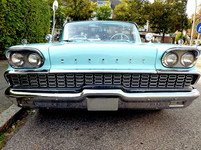 Mercury, Auto, Classic, Oldtimer, Vehicle, Rarity