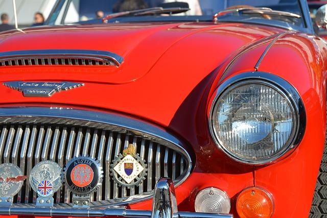 Austin Healey, Car, Automobile, Vehicle, Austin, Retro