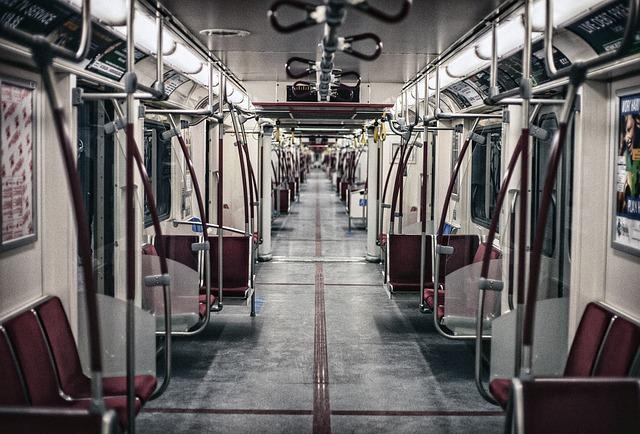 Handlebars, Metro, Seats, Train, Vehicle