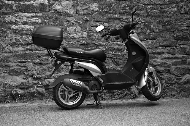 Scooter, Two Wheels, Transport, Urban, Vehicle