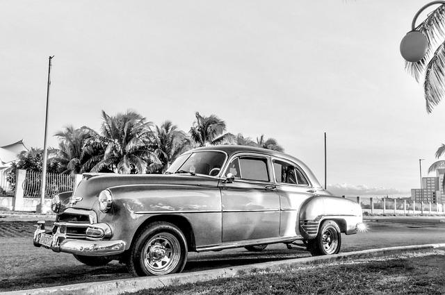 Vehicle, Auto, Transport System, Travel, Cuba, Oldtimer