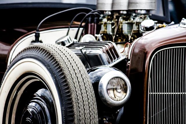 Auto, Vehicle, Chrome, Drive, Wheel, Classic, Motor