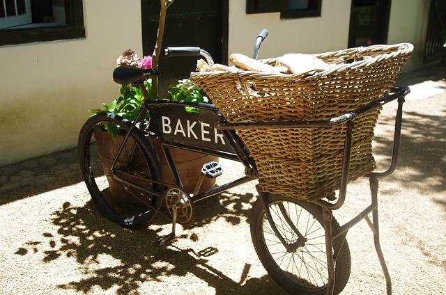 Vintage, Delivery Bike, Bicycle, Wheel, Vehicle, Bike