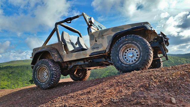 Jeep, Wrangler, Mountain, Mud, Play, Machine, Vehicle