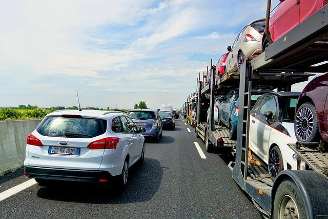 Road, Jam, Vehicles, Highway, Traffic