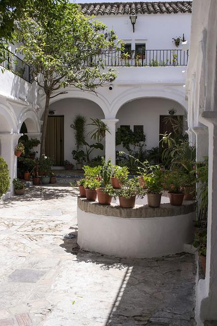 Patio, Andalusian Patio, The Frontera Vejer, Vejer