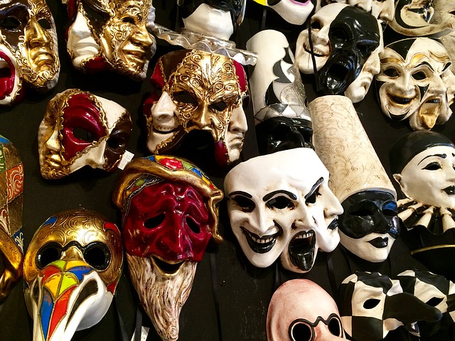 Masks, Venice, Venetian Mask, Venezia, Italy