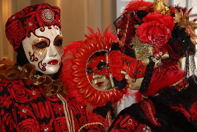 Carnival, Venetian, Remiremont, Masks, Costumes