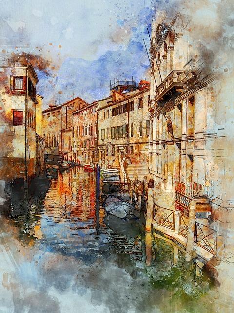 Venice, Italy, Europe, Canal, Italian, Gondola, Venezia